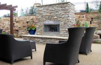 Patio Fireplace Dunwoody GA
